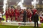 FC Nordsj�lland med pokalen