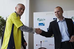 Mikkel Thygesen (Br�ndby IF), Ole Bjur, sportschef (Br�ndby IF)