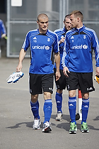 Mikkel Thygesen (Br�ndby IF), Jan Frederiksen (Br�ndby IF), Mikael Nilsson (Br�ndby IF)