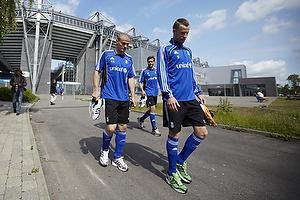 Mikkel Thygesen (Br�ndby IF), Jan Frederiksen (Br�ndby IF), Max von Schlebr�gge (Br�ndby IF)