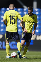 Mikkel Thygesen  (Br�ndby IF), Brent McGrath (Br�ndby IF)
