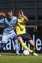 Mikkel Thygesen  (Br�ndby IF), Mads Fenger, anf�rer (Randers FC)