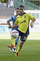 Osama Akharraz (Br�ndby IF), Jonas Kamper (Randers FC)