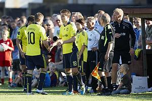 Martin Bernburg (Br�ndby IF), Nicolaj Agger (Br�ndby IF), Alexander Green (Br�ndby IF)