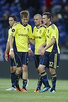 Brent McGrath (Br�ndby IF), Mikkel Thygesen (Br�ndby IF), Kristoffer Munksgaard (Br�ndby IF)