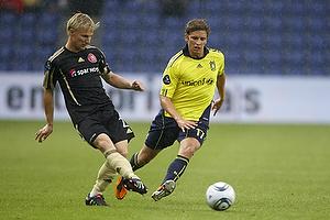 Jens Larsen (Br�ndby IF), Patrick Kristensen (Aab)