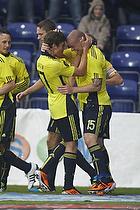 Martin Bernburg (Br�ndby IF), Mike Jensen (Br�ndby IF), Jens Larsen (Br�ndby IF), Mikkel Thygesen (Br�ndby IF)