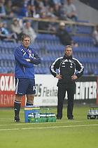 Kent Nielsen, cheftr�ner (Aab), Henrik Jensen, cheftr�ner (Br�ndby IF)