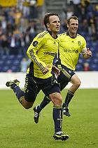 Mike Jensen, m�lscorer (Br�ndby IF), Thomas Rasmussen (Br�ndby IF)