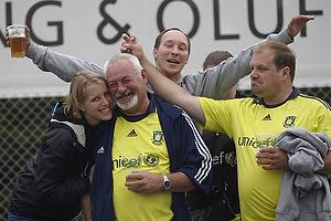 Br�ndby Support Frederlkssund p� Silkeborg Stadion