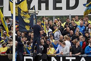 Br�ndbyfans p� Silkeborg Stadion