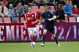 Mikael Nilsson (Br�ndby IF), Jesper Bech (Silkeborg IF)