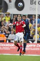 Daniel Stenderup (Br�ndby IF), Kaimar Saag (Silkeborg IF)