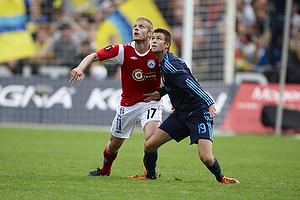 Daniel Stenderup (Br�ndby IF), Jens Larsen (Br�ndby IF)