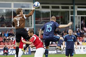 Lasse Heinze (Silkeborg IF), Thorbj�rn Holst Rasmussen (Silkeborg IF), Mikkel Thygesen (Br�ndby IF)