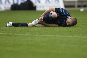 Martin Bernburg (Br�ndby IF) bliver skadet