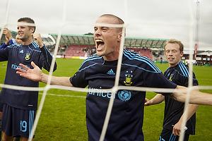En jublende Mikkel Thygesen (Br�ndby IF)