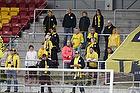 Enkelte AC Horsens fans p� Farum Park