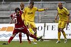 S�ren Christensen (FC Nordsj�lland), Niels Lodberg (AC Horsens), Anders N�hr (AC Horsens)