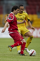 Michael Parkhurst (FC Nordsj�lland), Issey Nakajima-Farran (AC Horsens)