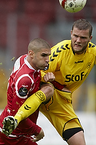 Rawez Lawan (FC Nordsj�lland), Niels Lodberg (AC Horsens)