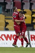 S�ren Christensen, m�lscorer (FC Nordsj�lland), Henrik Kildentoft (FC Nordsj�lland)