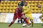 Rawez Lawan (FC Nordsj�lland), Martin Spelmann (AC Horsens)