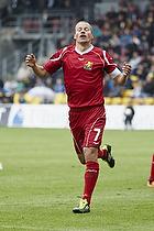 Nicolai Stokholm, anf�rer (FC Nordsj�lland) har br�ndt en stor chance