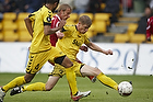 Morten Rasmussen (AC Horsens), Tobias Mikkelsen (FC Nordsj�lland), Nabil Aslam (AC Horsens)