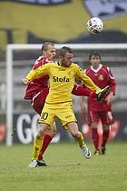 Martin Spelmann (AC Horsens), Nicolai Stokholm, anf�rer (FC Nordsj�lland)