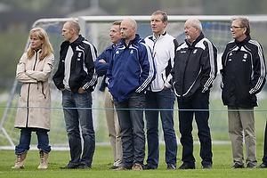 Birgit Aaby adm. direkt�r (Lyngby BK), Ole Bjur, sportschef (Br�ndby IF), Kim Vilfort, talentchef (Br�ndby IF), Per Bjerregaard (Br�ndby IF)