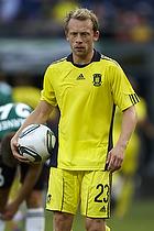 Michael Krohn-Dehli (Br�ndby IF) med bolden