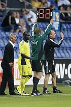 Kim Daugaard, assistenttr�ner (Br�ndby IF), Paul Jatta (Br�ndby IF), Henrik Jensen, cheftr�ner (Br�ndby IF)