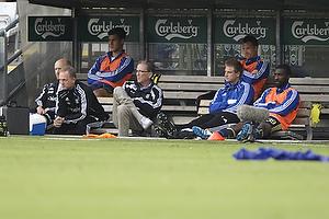 Kristoffer Munksgaard (Br�ndby IF), Per Bjerregaard,  (Br�ndby IF), Michael T�rnes (Br�ndby IF), Jan Frederiksen (Br�ndby IF), Franck Semou (Br�ndby IF)