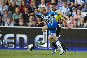 Anders M�ller Christensen (Ob), Brent McGrath (Br�ndby IF)