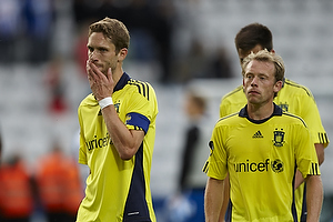 Clarence Goodson, anf�rer (Br�ndby IF), Michael Krohn-Dehli (Br�ndby IF)