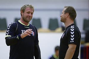 Joachim Boldsen (AG K�benhavn), Klavs B. J�rgensen, cheftr�ner (AG K�benhavn)