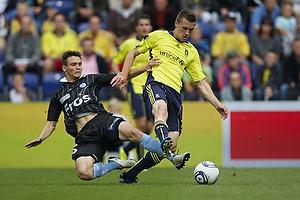 Brent McGrath (Br�ndby IF), Thomas Hansen (S�nderjyskE)