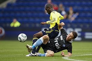Franck Semou (Br�ndby IF), Eyjolfur Hedinsson (S�nderjyskE)