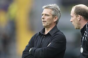 Henrik Jensen, cheftr�ner (Br�ndby IF) Kim Daugaard, assistenttr�ner (Br�ndby IF)