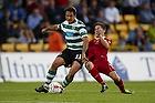 Fabian Rinaudo (Sporting Lissabon), S�ren Christensen (FC Nordsj�lland)