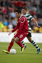 Mikkel Beckmann (FC Nordsj�lland),  Stephanns Schaars (Sporting Lissabon)