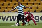 Evaldo Fabiano (Sporting Lissabon), Rawez Lawan (FC Nordsj�lland)