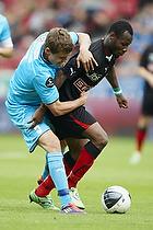 Andreas Bjelland (FC Nordsj�lland), Sylvester Igboun (FC Midtjylland)
