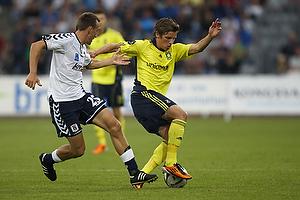 Kasper Povlsen (Agf), Jens Larsen (Br�ndby IF)