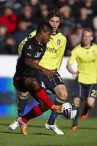 Izunna Arnest Uzochukwu (FC Midtjylland), Jens Larsen (Br�ndby IF)