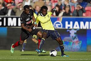 Oluwafemi Ajilore (Br�ndby IF), Sylvester Igboun (FC Midtjylland)