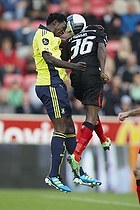 Oluwafemi Ajilore (Br�ndby IF), Rilwan Olanrewaju Hassan (FC Midtjylland)