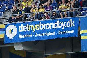 Det nye br�ndby-banner