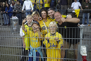 Fans p� Sydsiden